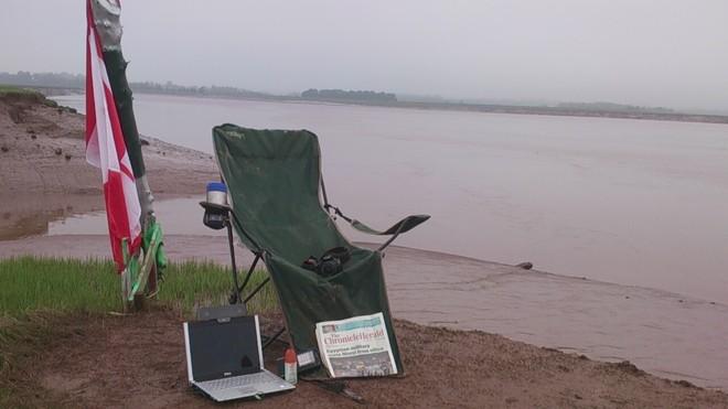 Little Overcast so far...waiting for Sun to Shine in Nova Scotia Wolfville, Nova Scotia Canada