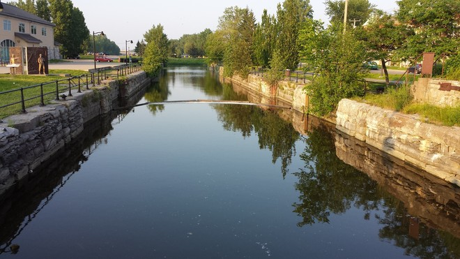 The canal Lachine, Quebec Canada