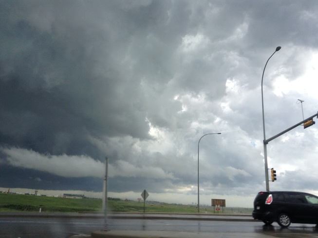 Severe Thuderstorm in airdrie Airdrie, Alberta Canada