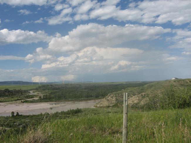 Thunderhead from Brocket Brocket, Alberta Canada