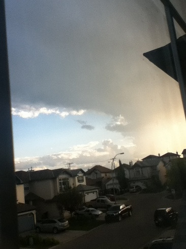 tornado formation? i dont know Calgary, Alberta Canada