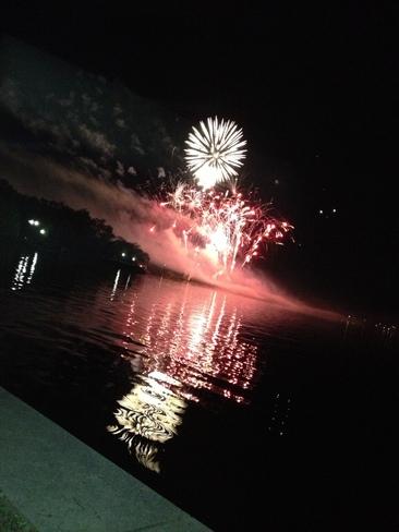 fireworks Regina, Saskatchewan Canada