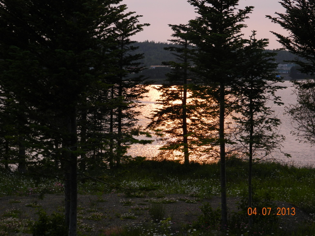 awesome sunset Boyd's Cove, Newfoundland and Labrador Canada