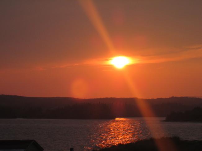 Sunset Colinet, Newfoundland and Labrador Canada