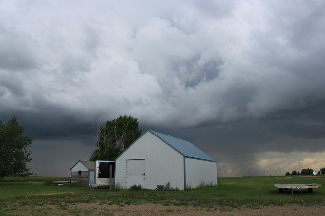 Storm Clouds Swift Current No. 137, Saskatchewan Canada