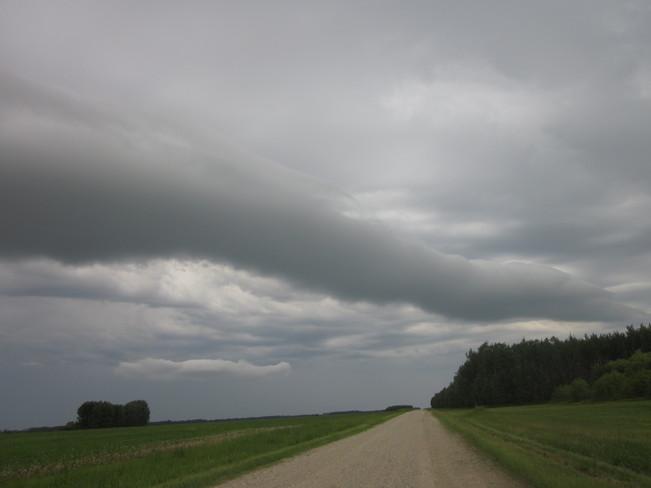 Wind Cloud Nipawin, Saskatchewan Canada