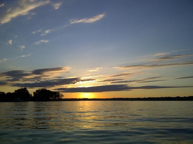 Sunset at Regina Beach Regina Beach, Saskatchewan Canada