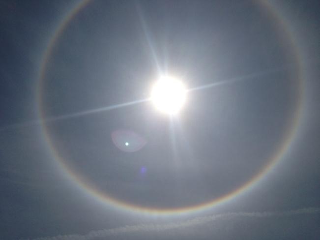 Sun Halo Cavendish, Prince Edward Island Canada