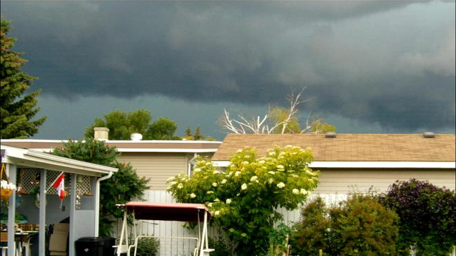 Ominous Clouds Lethbridge, Alberta Canada