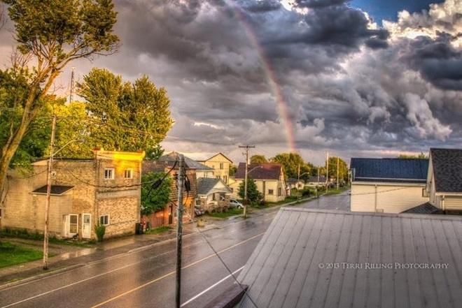 Thunderstorm over Granton Granton, Ontario Canada