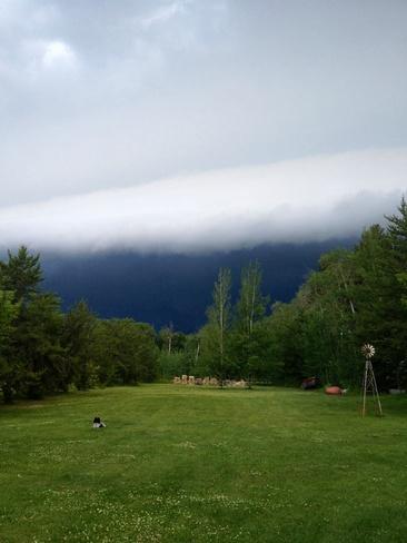 storm Clyde, Alberta Canada