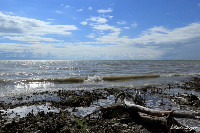 Lapping Waves St. Laurent, Manitoba Canada