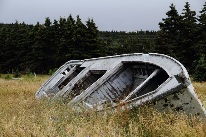 Reminder of the past in Newfoundland South River, Newfoundland and Labrador Canada