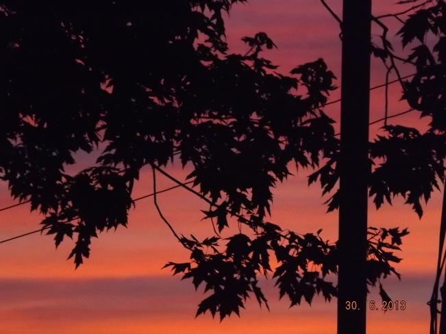 Sunset Port Colborne, Ontario Canada