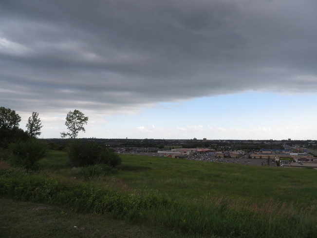 Storm Moving In Brandon, Manitoba Canada