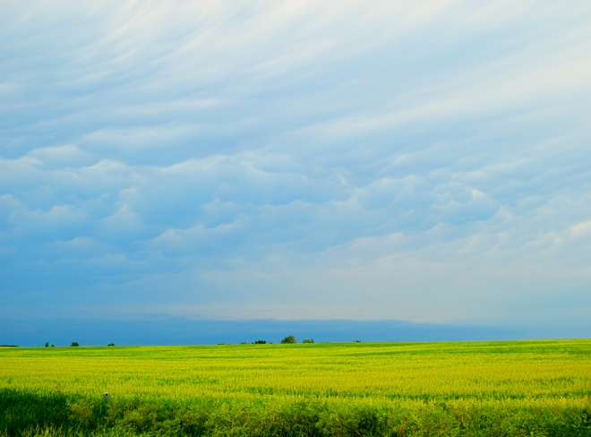 Storm clouds Brookdale, Manitoba Canada