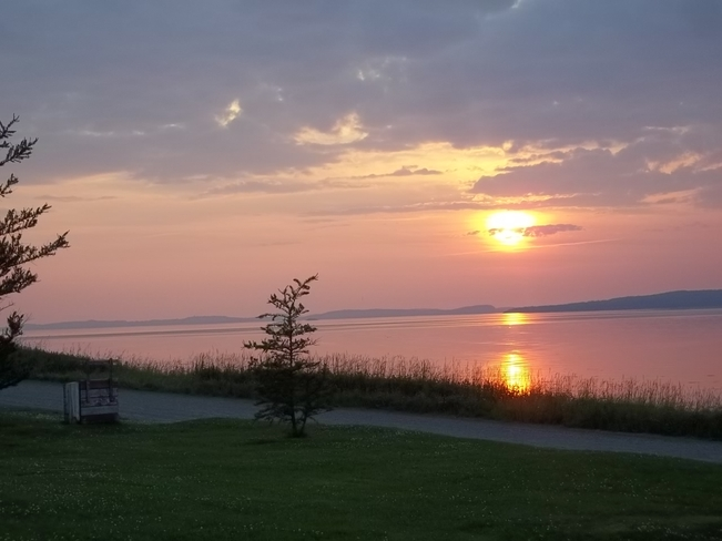 Lovely Sunset Birchy Bay, Newfoundland and Labrador Canada