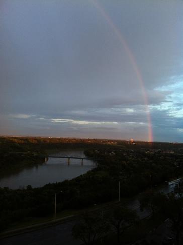 River Valley Rainbow Edmonton, Alberta Canada