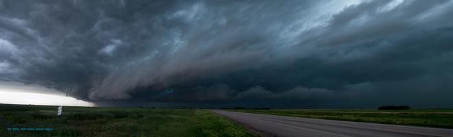Tornadic severe thunderstorm - 13 JUL 2013 Bienfait, Saskatchewan Canada