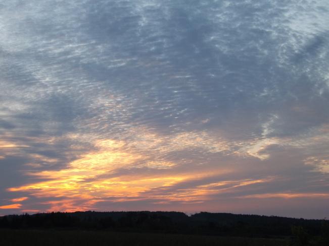 sunrise New Minas, Nova Scotia Canada