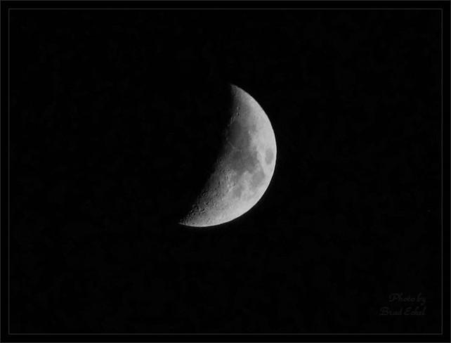 Sleeping Moon Simcoe, Ontario Canada