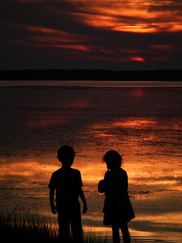 CHILDREN BEACH SUNSET Truro, Nova Scotia Canada