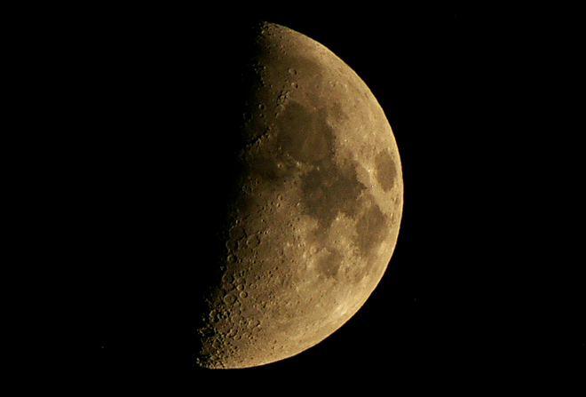 Tonights startling moon Kelowna, British Columbia Canada