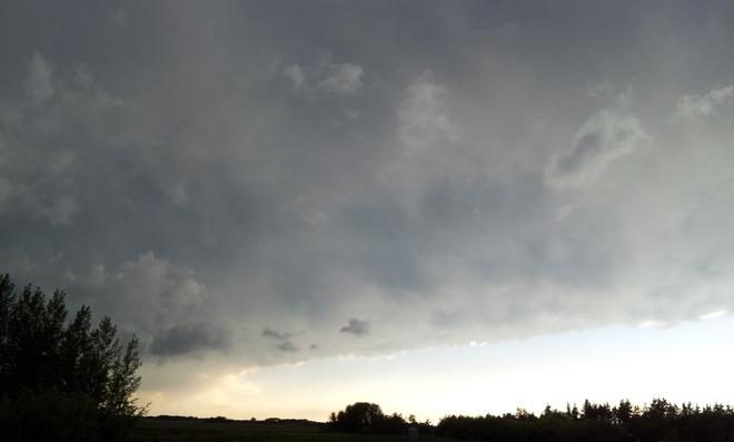 after the storm Melville, Saskatchewan Canada
