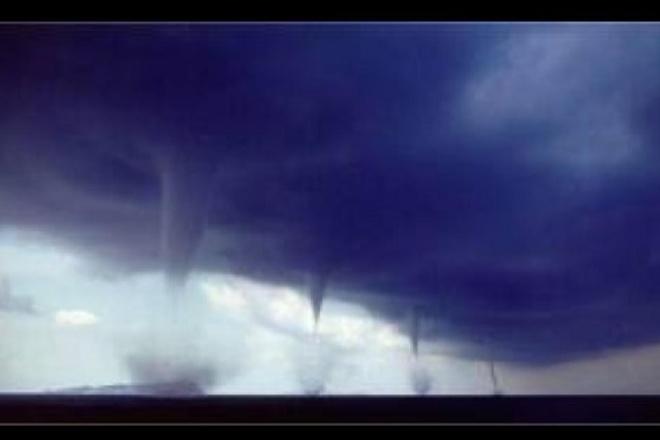 funnel clouds Sedley, Saskatchewan Canada