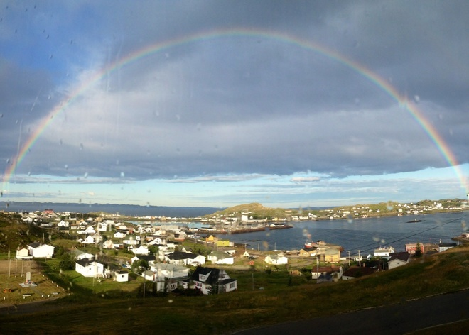 South Twillingate Is. Rainbow Twillingate, Newfoundland and Labrador Canada