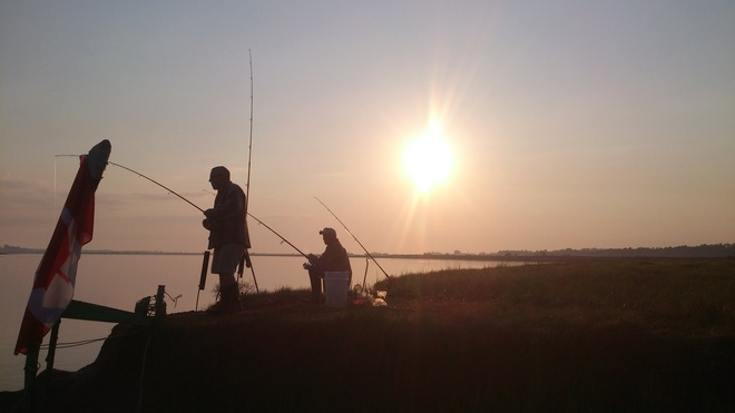 Just fine fishing in Wolfville Wolfville, Nova Scotia Canada