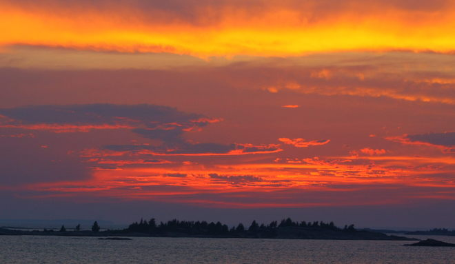Key Harbour Sunset Key Harbour, Ontario Canada