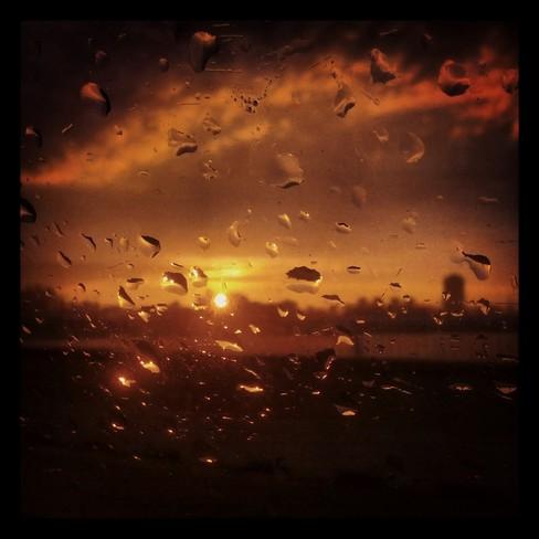 Car ride in the rain... Montreal Montréal, Quebec Canada
