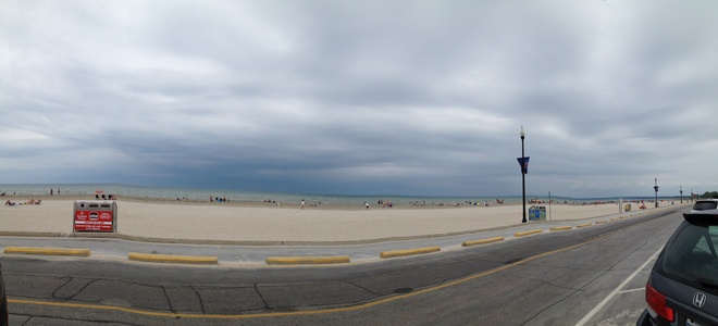 wasaga looking like rain Wasaga Beach, Ontario Canada
