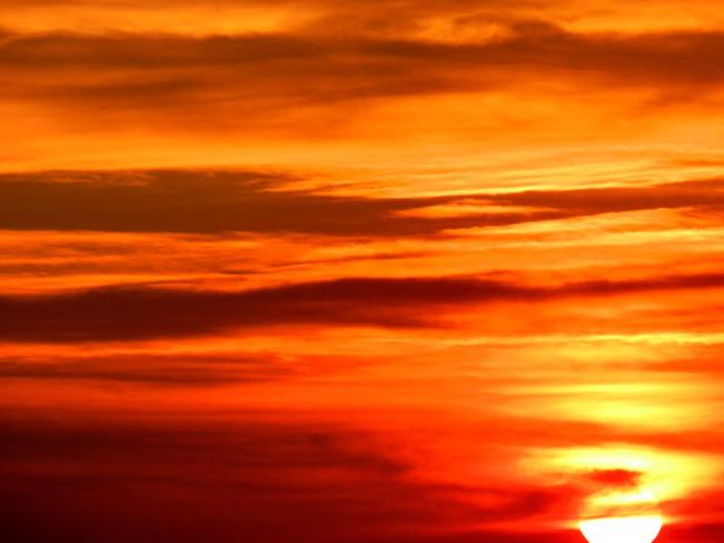 Sun Set Toronto, Ontario Canada