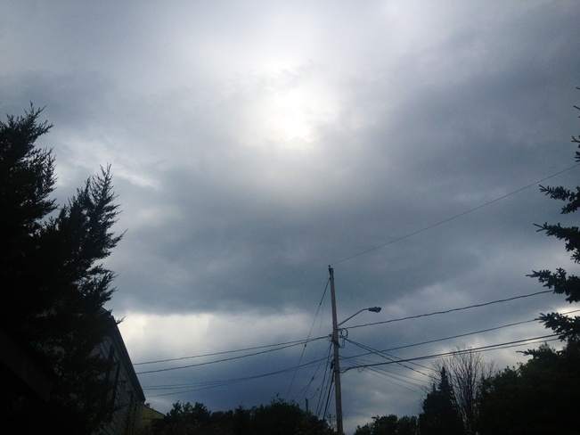 Tornado Warning Parry Sound, Ontario Canada