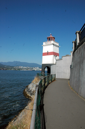 Lighthouse or Fortress! Vancouver, British Columbia Canada