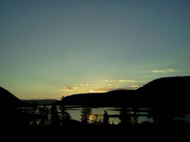 Williams Lake Sunset