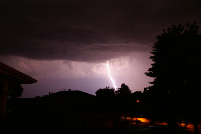 What a light show! Dundas, Ontario Canada