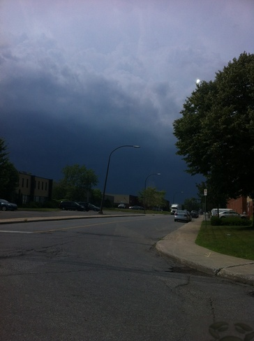 Storm July 19 Lachine, Quebec Canada