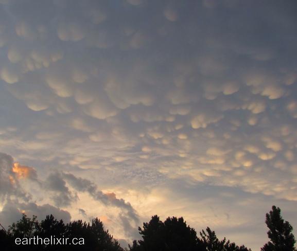 Breast clouds Toronto, Ontario Canada