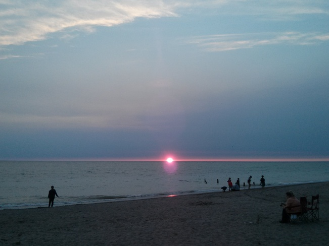 Sunset on Lake Huron Goderich, Ontario Canada