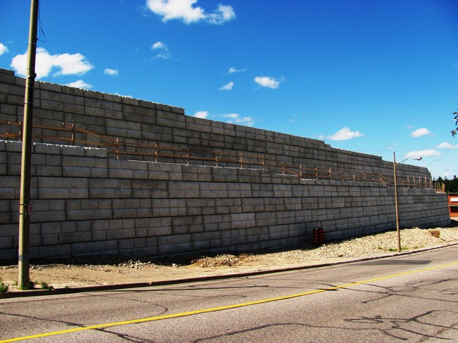 The Great Wall of Elliot Lake Elliot Lake, Ontario Canada