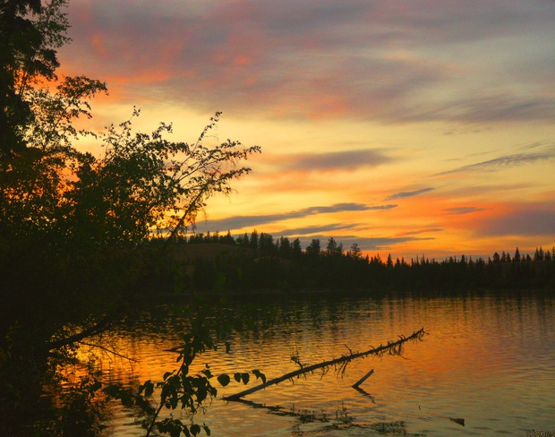 SUNSET BEAUTY Clinton, British Columbia Canada