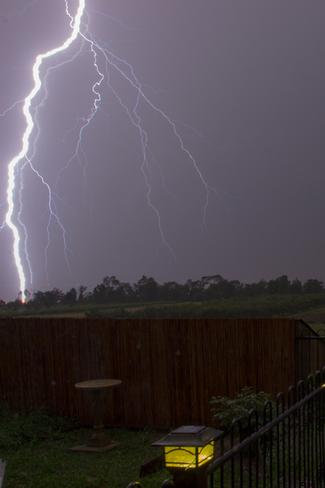 Multiple Bolt Lightning Stoney Creek, Ontario Canada