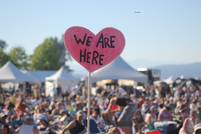 Beautiful Weather At Vancouver Folk Fest! Vancouver, British Columbia Canada