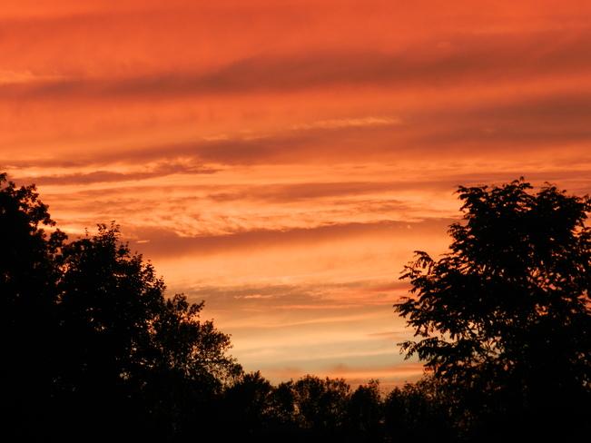 Evening hues Maitland, Ontario Canada