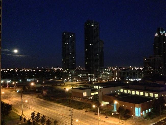 moon Mississauga, Ontario Canada