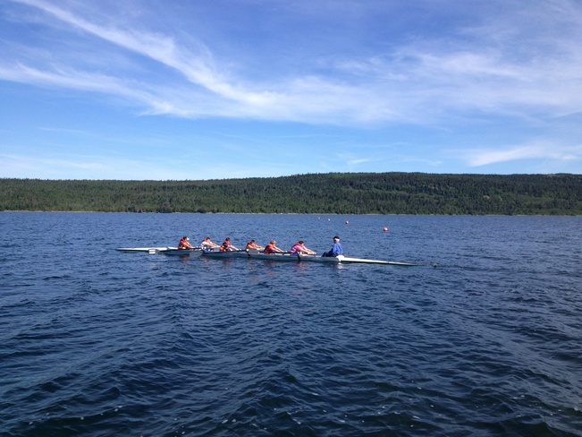 young rowers Harbour Grace, Newfoundland and Labrador Canada