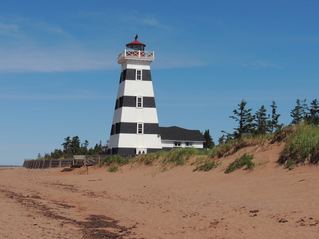 West Point Lighthouse P. E. I. July 22nd 2013 North Shore, Prince Edward Island Canada
